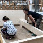 Frauenpower in unserer Holzwerkstatt