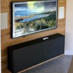 Edle TV-Wand